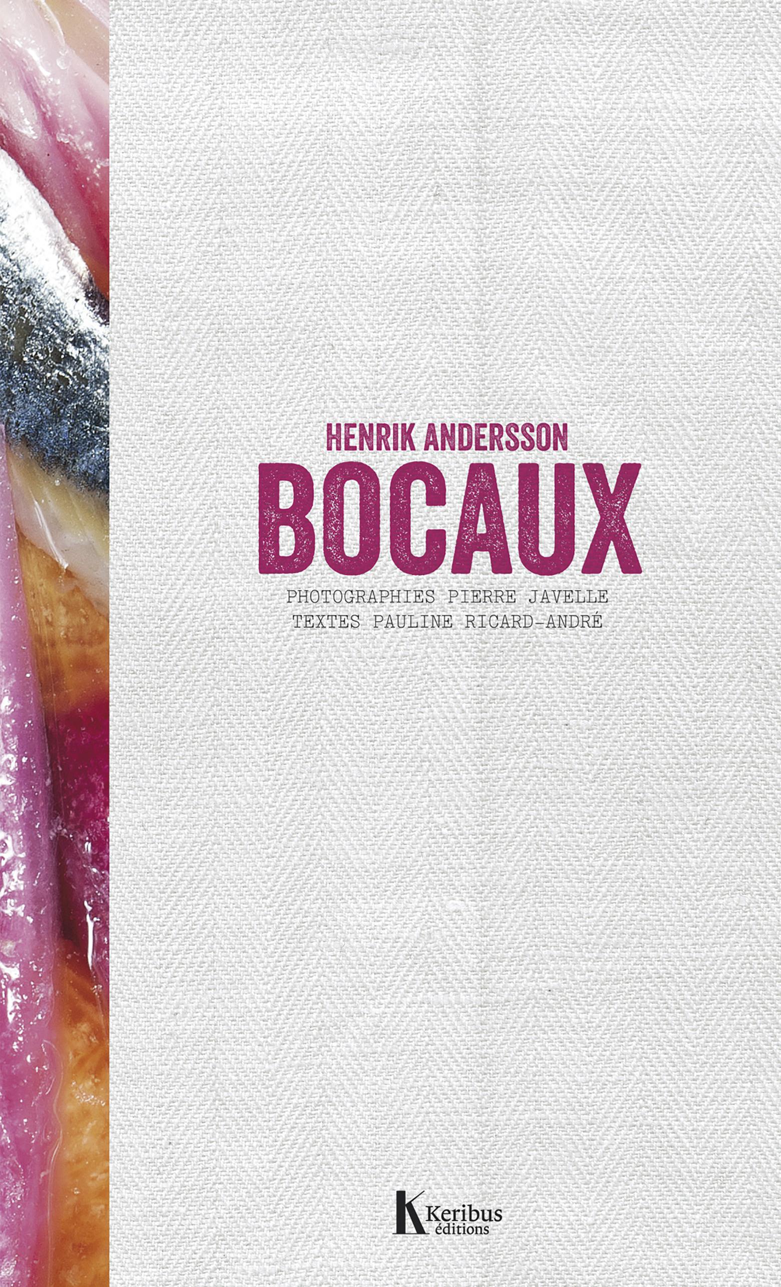 Bocaux Cover Keribus editions